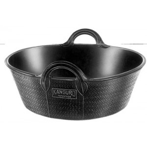 Recycled Rubber Skip Bucket 20lt 212191