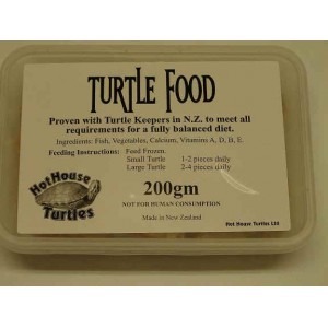 Hot House TurtleFood 200g