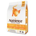Nutrience Cat Grain Free Turkey, Chicken & Herring 2.5kg