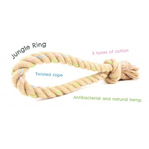 Beco Rope Jungle Ring Large