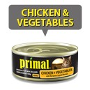 Primal Chicken & Vegetables 100g