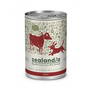 Zealandia Natural Dog Food Beef 370gm
