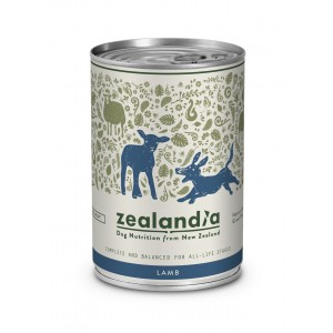 Zealandia Natural Dog Food Lamb 370gm