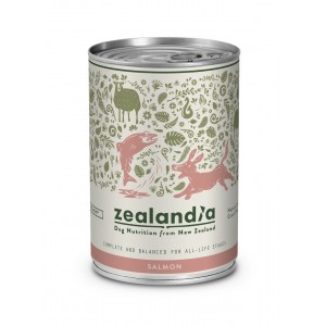 Zealandia Natural Dog Food Salmon 370gm
