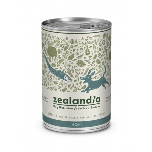 Zealandia Natural Dog Food Hoki 370gm