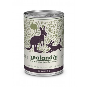 Zealandia Natural Dog Food Wild Kangaroo 370gm