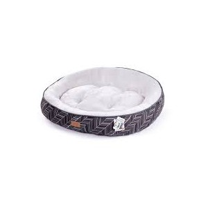 Kazoo Funky Donut Bed Small Black
