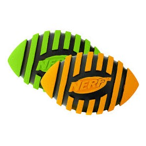 Nerf Squeaky Spiral Football 5""