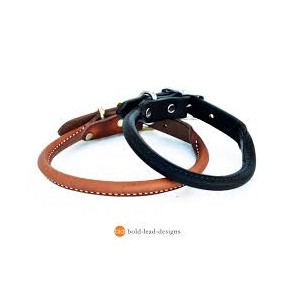 Rolled Leather Collar & Leads Range
