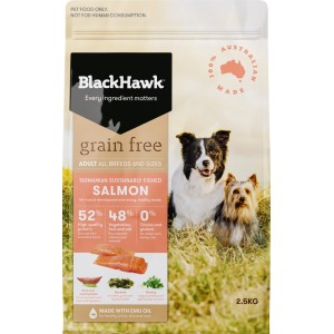 Black Hawk Grain Free Salmon Dog Food 2.5kg