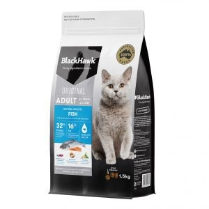 Black Hawk Holistic Fish Cat Food