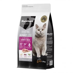 Black Hawk Lamb & Rice Cat Food