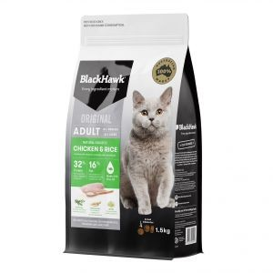 Black Hawk Chicken & Rice Cat Food