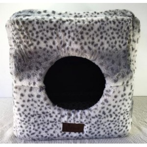 Cattitude Plush Igloo Bed Large