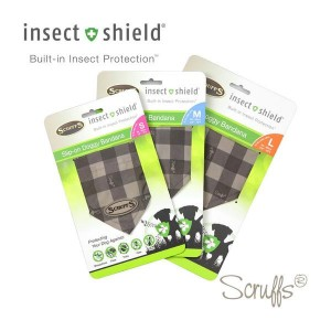 INSECT SHIELD DOGGY BANDANA Small