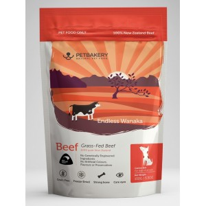 PetBakery Freeze-Dried Dog Treats Beef 50g